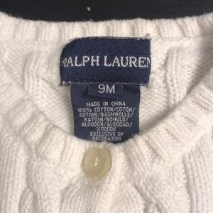 Polo by Ralph Lauren Jackets & Coats - Baby Girl Cord sweater button up